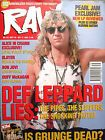 RAW and Kerrang mags such as: RAW No 133 Sept29 - Oct12 1993 Complete with posters and Grunge 16 page special