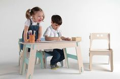 Plywood Kid's Desk (available from Playply)