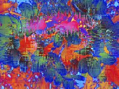 Almost Floral - Modern Colorful Floral Abstract
