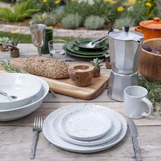 Blue Pheasant Rustic Stoneware Collection for the Table   Fork + Rose: Home and Table Decor
