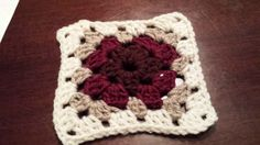 Square #1  easy beginner's crochet granny square pattern from www.crochet.about.com