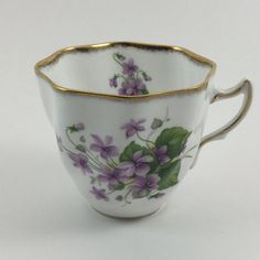 Vintage Rosina Bone China Tea Cup Made in by FindingYesterday