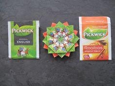 Pickwick theezakjes Ceylon - 2 bloemen op elkaar