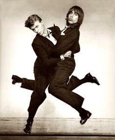 David Bowie & Iggy Pop.