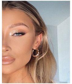 Makeup Trends, Eye Trends, Makeup Tips, Makeup Ideas, Simple Eye Makeup, Natural Makeup Looks, Light Eye Makeup, Easy Makeup, Prom Makeup Looks