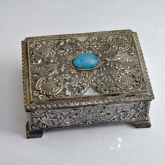 Vintage Jewelry Boxes | antique jewelry box