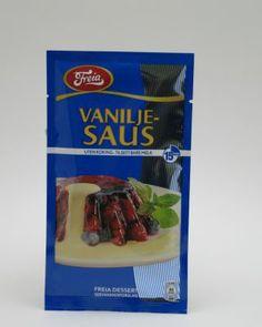 Premade/boxed vanilje saus.