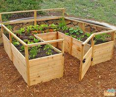 Que tal aproveitar os últimos dias do ano para construir um espaço especial para sua horta?