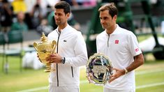 "Roger Federer says his crucial match with Novak Djokovic at the ATP Finals on Thursday is ""a chance to get him back"" for this year's Wimbledon final. Roger Federer, Taekwondo, Cross Country, Bmx, Tommy Haas, Tie Break, Wimbledon Final, Match Point, Football And Basketball"