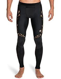 Long Tights from Get Active Feat. Skins Compression Wear on Gilt Black Tights, Black Jeans, Compression Clothing, Basketball Tricks, Mens Tights, Hot Outfits, Workout Wear, Menswear, American Football