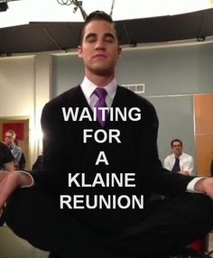 Waiting for my Klaine