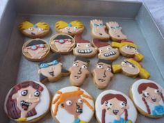 One way to lure Stoop Kid away from his stoop - Hey Arnold cookies!