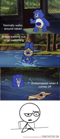 Care Bears Logic-  Any cartoon with animals logic.  lol
