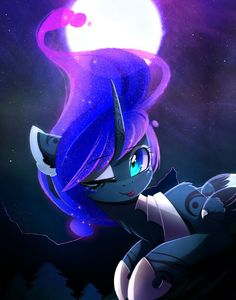 MLP: Princess Luna Art by MagnaLuna on Deviantart