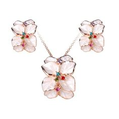 Fashion Plaza Women`s White Enamel Flower Stud Earrings and Pendant Necklace Jewelry Set S59 Fashion Plaza http://www.amazon.com/dp/B00AWK6NHC/ref=cm_sw_r_pi_dp_wzIcvb1VQ9ZVA