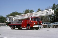 Ladders, Fire Trucks, Snorkeling, Illinois, Tower, Ford, Platform, Vehicles, Firemen