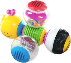 Caterpillar Activity Balls by Blue Box Toys - $9.95
