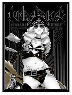 Judas Priest, Motorhead, Testament