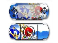 Sonic Heroes PSP 3000 sticker for PSP 3000 console. Choose your favorite design from a huge range of PSP 3000 stickers collection for PSP 3000 console. Xbox One Skin, Console Styling, Sonic Heroes, Ps4 Skins, Psp, Games To Play, Decal, Sticker, Products