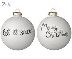 Let it snow! These two Christmas balls are set for the Christmas season and … - DIY CHRİSTMAS Glass Christmas Ornaments, Christmas Balls, Christmas Time, Merry Christmas, Christmas Decorations, Holiday Decor, Christmas Scenes, Jingle Bells, Kids And Parenting