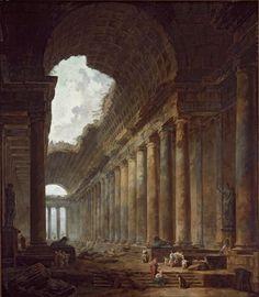 Hubert Robert (1733–1808), The Old Temple, 1787, Art Institute of Chicago, Chicago