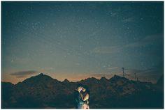 starry  desert night
