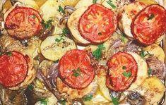 Μπακαλιάρος+στο+φούρνο+με+πατάτες+και+αρωματικά