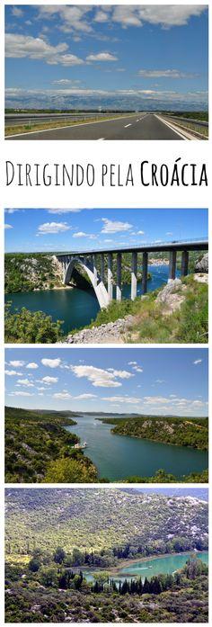 Dirigir pela Croácia nos presenteia com as mais belas paisagens por todo o caminho.
