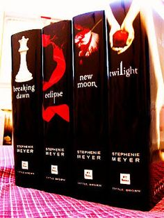 The Twilight Saga Series:  Click the image to read the article: The Stephenie Meyer Guide to Following your Writing Muse