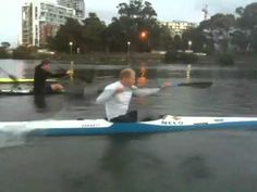 Learn the right paddle stroke.