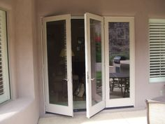 3 Panel Double French Door With Multi Point Locks, All Fiberglass.