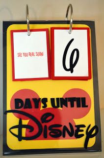 WDW Hints: A Disney Countdown Calendar adds to the Fun!