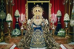 Fotografía Cofrade: Besamanos de María Santisíma de la Caridad en su S...