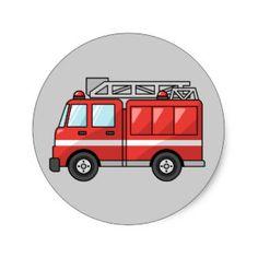Bildergebnis für fire truck craft template