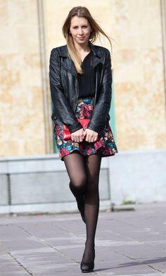 Mi falda skater de flores