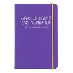 Happy Jackson A6  Gems of Inspiration  Notebook - NWT