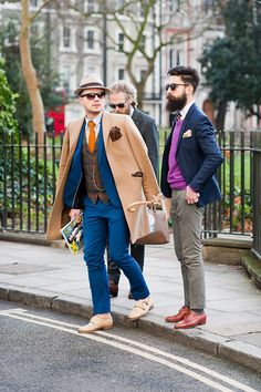Photographed by Suzanne Middlemass via GQ.com at London Men's Fashion Week Fall 2015. #beardspiration