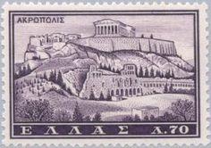 Acropolis, Athens Athens Acropolis, Parthenon, Athens Greece, Ex Yougoslavie, Greece Tourism, Thing 1, Greek Art, Postage Stamps, Retro
