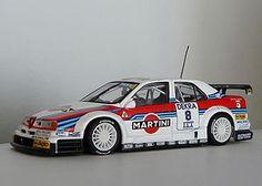 Minichamps Diecast.. Martini Racing, Vintage Race Car, Alfa Romeo, Buses, Diecast, Race Cars, Lego, Trucks, Vehicles