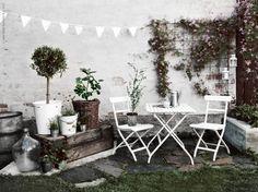 9x inspiratie voor patio's en terrassen met klimplanten - Roomed