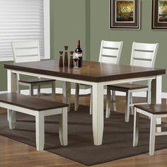 Monarch Specialties Inc. 6 Piece Dining Set