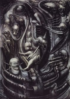 National Park by HR Giger - Unspeakable horrors - PsychonautWiki