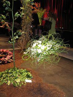 Suspended floral ... ~ Floral Designer Annette von Einem, Nordic Master in floral art,  Copenhagen