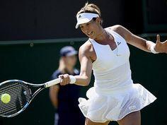 Muguruza llega a las semifinales de Wimbledon