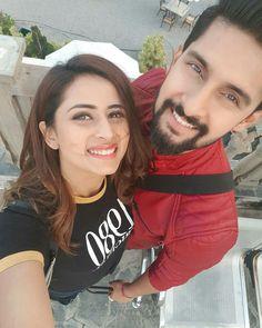 fav couple ever 😘😘😍😍 Tv Couples, Romantic Couples, Tv Actors, Actors & Actresses, Ravi Dubey, Sikh Bride, Punjabi Couple, Saree Dress, Bridal Photography