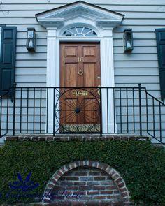 Charleston Single Front Door Charleston SC   by CharminglyDixie, $10.00