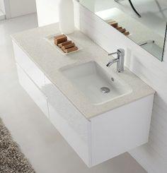 Manisa 1200 Single Basin Wall Hung White Bathroom Vanity with Soft Closings | AUD 1045.00