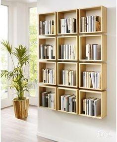memo.de, bookshelf, Bücherregal, Bücherboxen