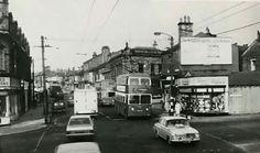 Bradford, Buses, Yorkshire, 1960s, Street View, Memories, History, Memoirs, Souvenirs