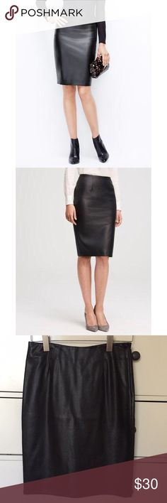 NWT ANGL Faux Leather Skirt NWT ANGL Faux Leather Skirt! Perfect for this fall and winter season!! ANGL Skirts